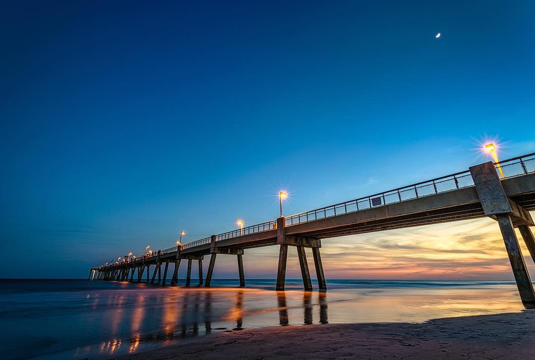 Destin Things To Do - Okaloosa Island Pier - Original Photo