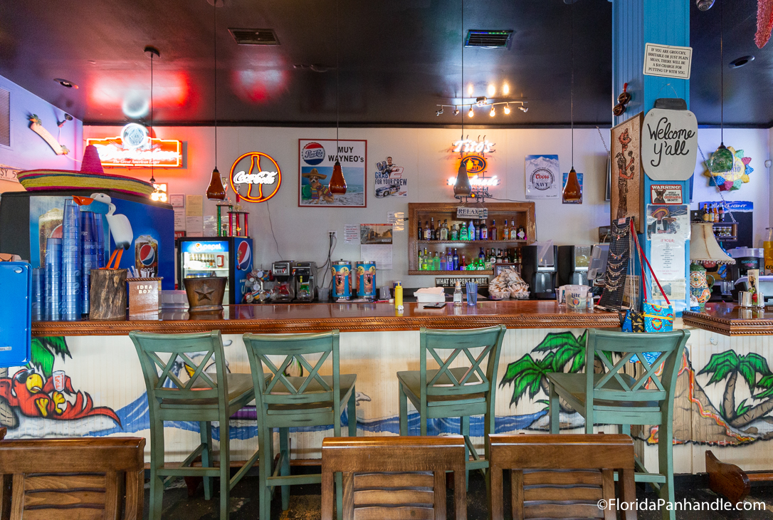 Panama City Beach Restaurants - Muy Wayne O's - Original Photo