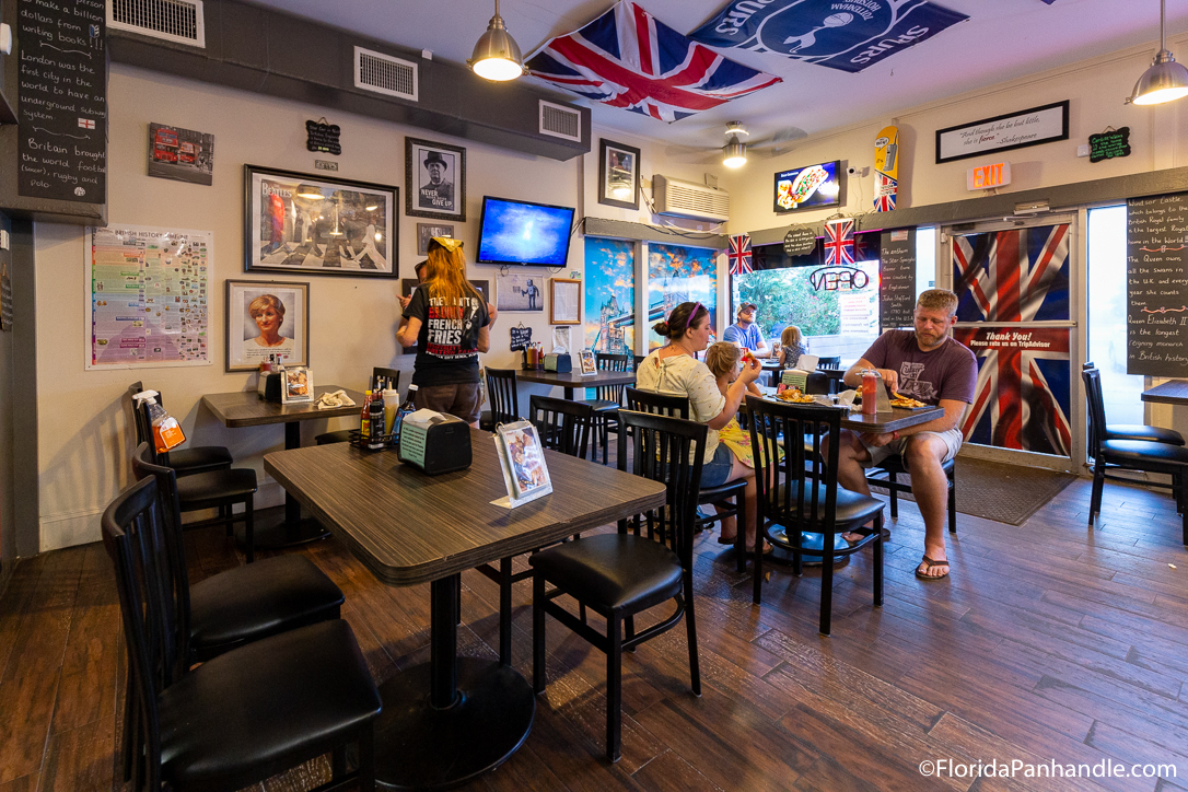 Panama City Beach Restaurants - Temperley's British Eatery - Original Photo