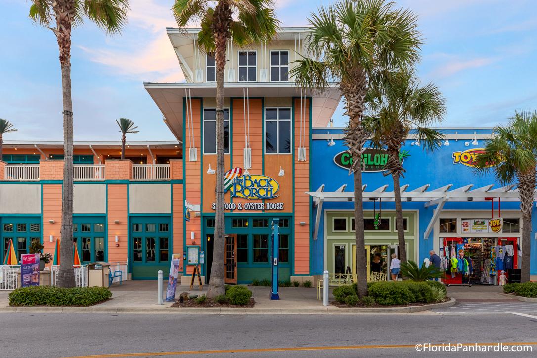 Panama City Beach Restaurants - The Back Porch - Original Photo