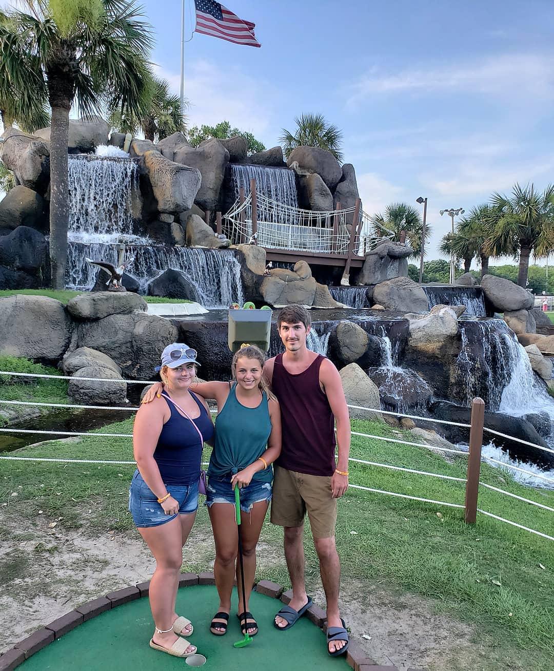 Panama City Beach Things To Do - Hidden Lagoon Super Race Track and Golf - Original Photo
