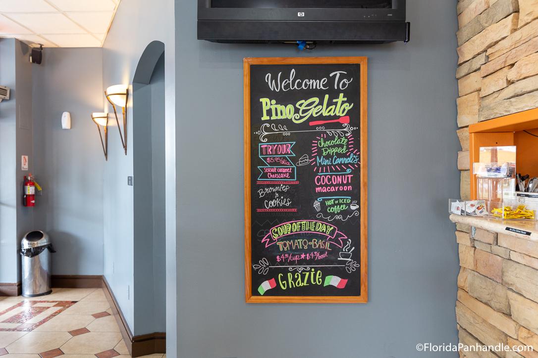 Destin Restaurants - Pino Gelato Cafe - Original Photo
