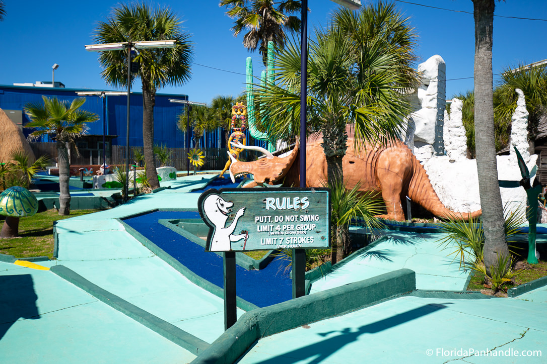 Panama City Beach Things To Do - Goofy Golf - Original Photo