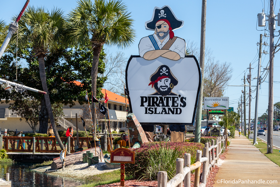 Panama City Beach Things To Do - Pirate's Island Adventure Golf - Original Photo