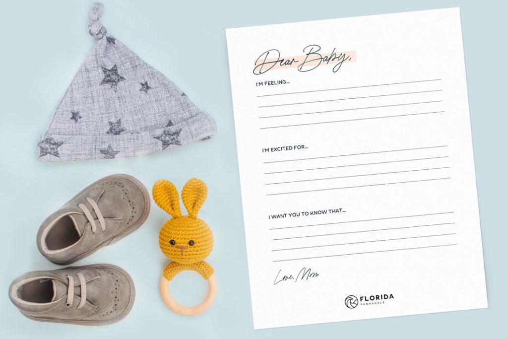Babymoon letter