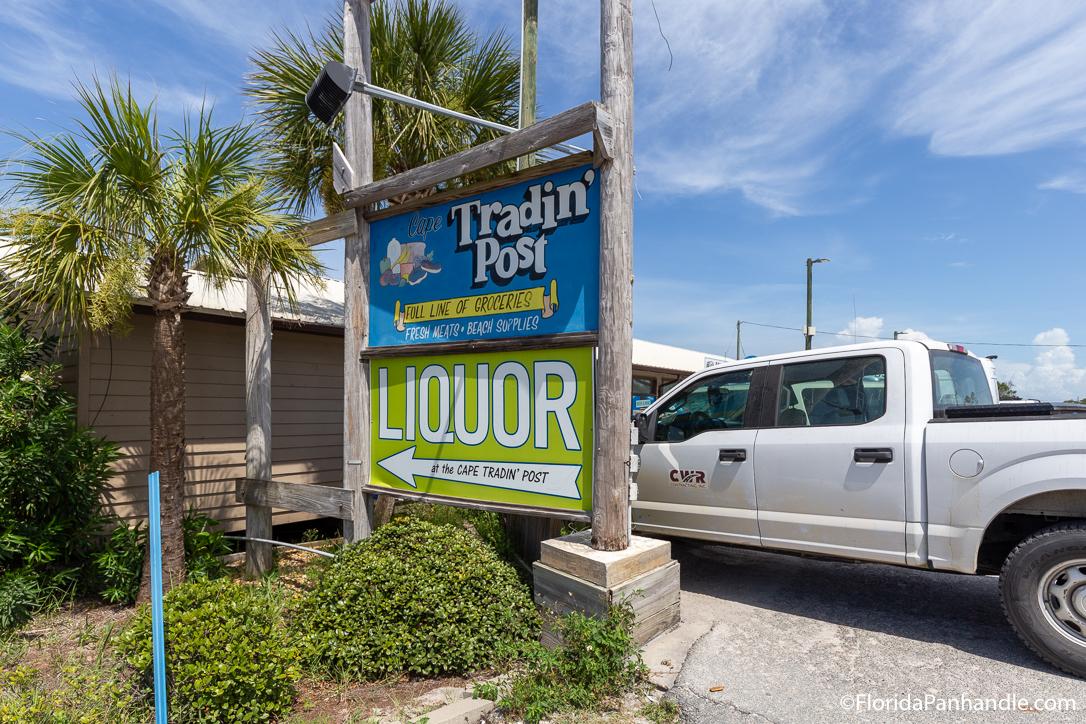 Cape San Blas Restaurants - Cape Tradin' Post - Original Photo