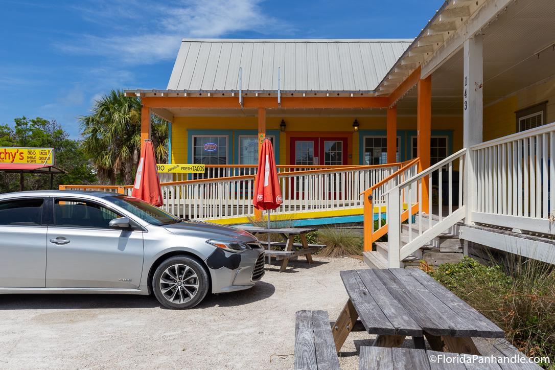Cape San Blas Restaurants - Peachy's Beach Eats - Original Photo