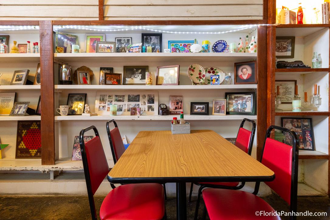 Cape San Blas Restaurants - Sand Dollar Cafe - Original Photo