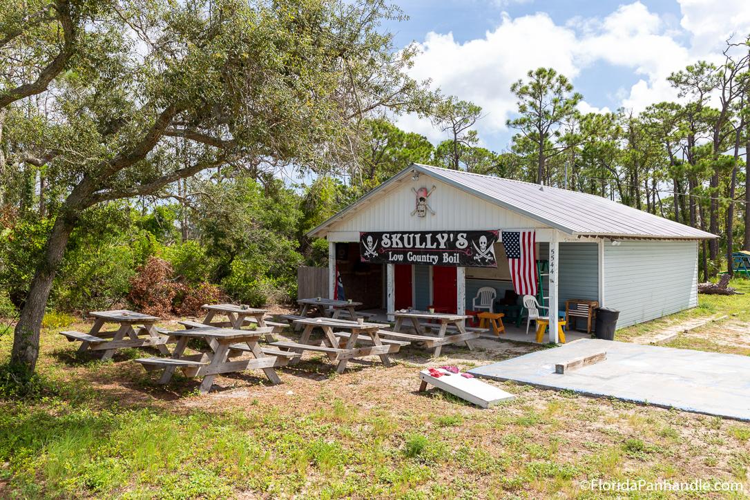 Cape San Blas Restaurants - Skully's Low Country Boil - Original Photo