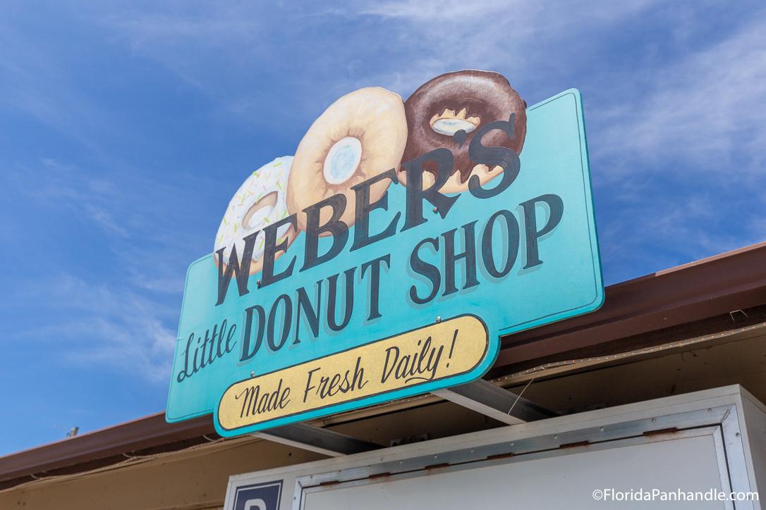 Cape San Blas Restaurants - Weber's Little Donut Shop - Original Photo