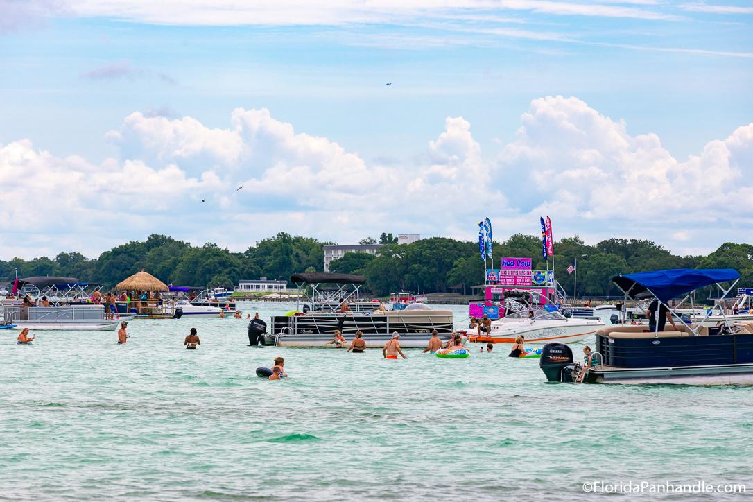 Destin Things To Do - Crab Island Cruises - Original Photo