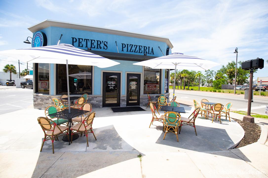 Cape San Blas Restaurants - Peter's Pizzeria - Original Photo