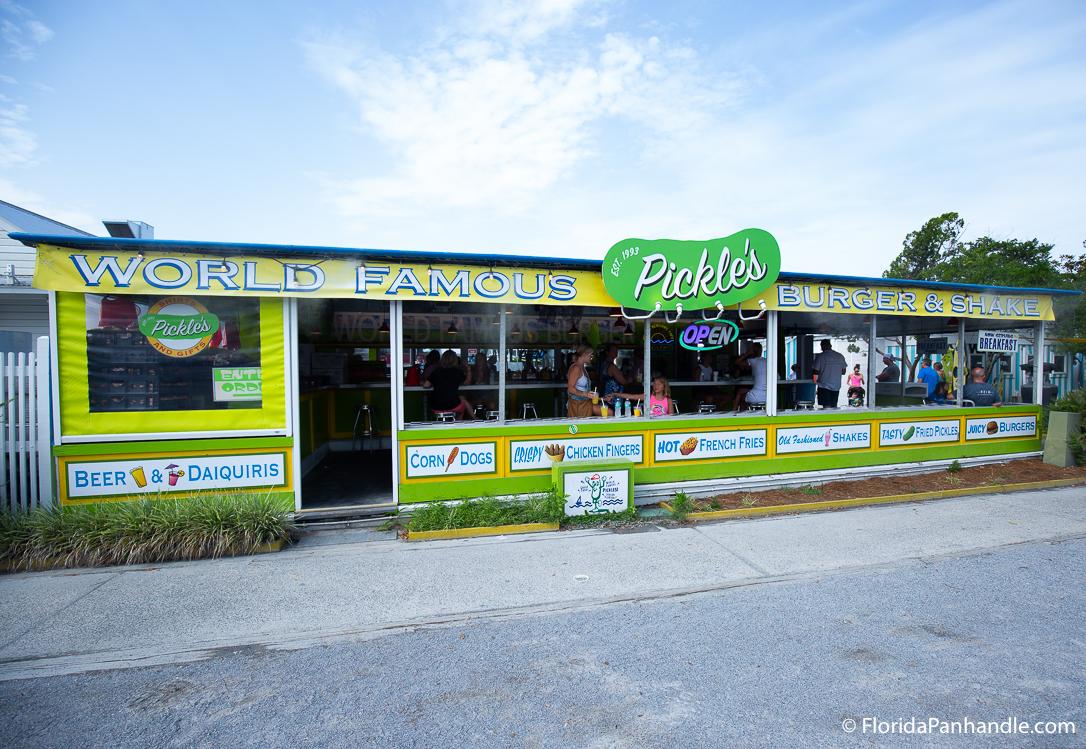 30A Restaurants - Pickle's Burger and Shake - Original Photo