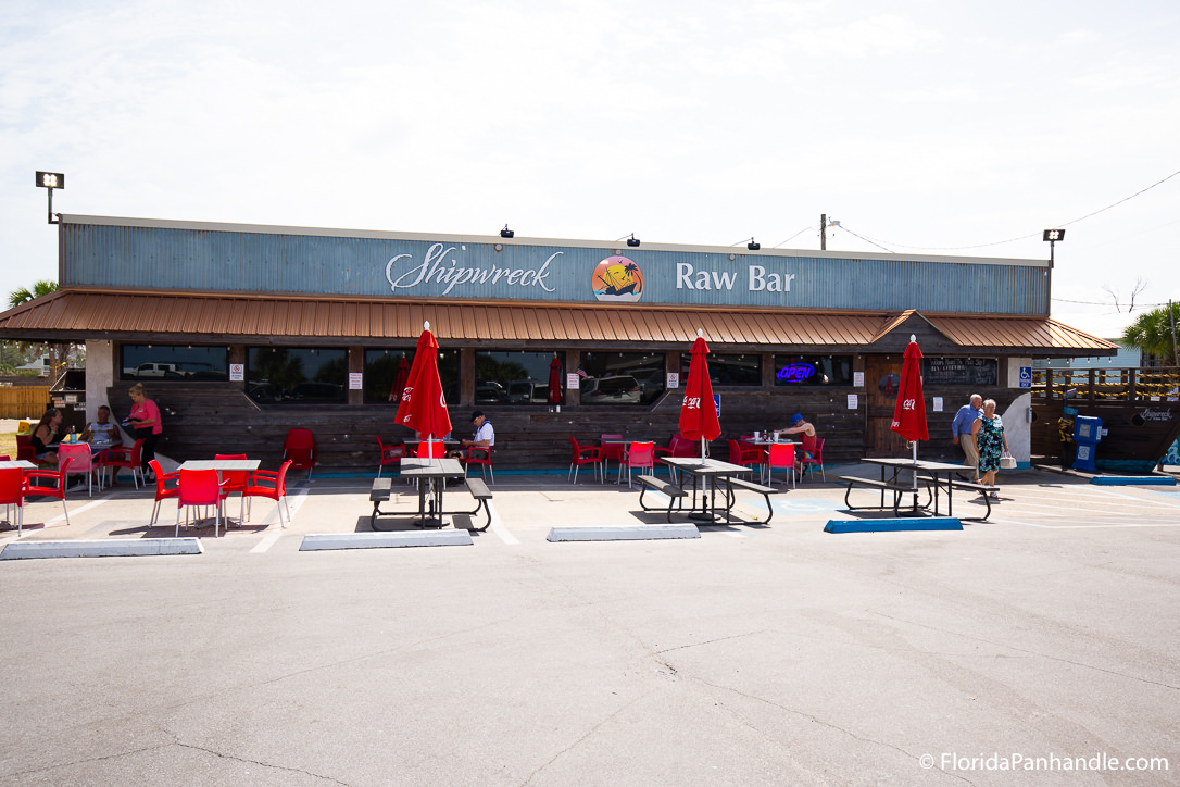 Cape San Blas Restaurants - Shipwreck Raw Bar - Original Photo