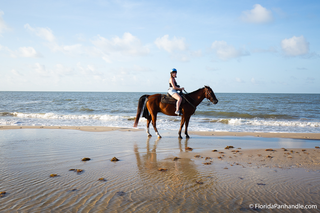 Cape San Blas Things To Do - Two-Bit Stable Horseback Riding on the Beach - Original Photo