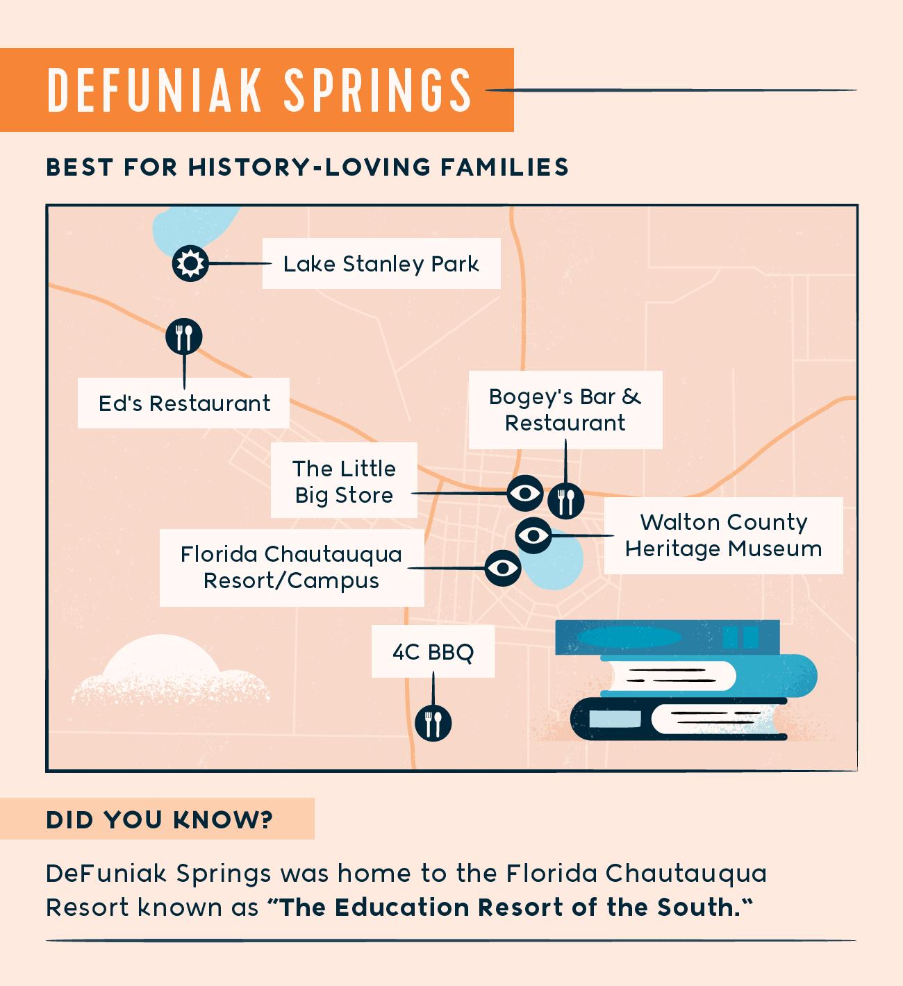 DeFuniak Springs map