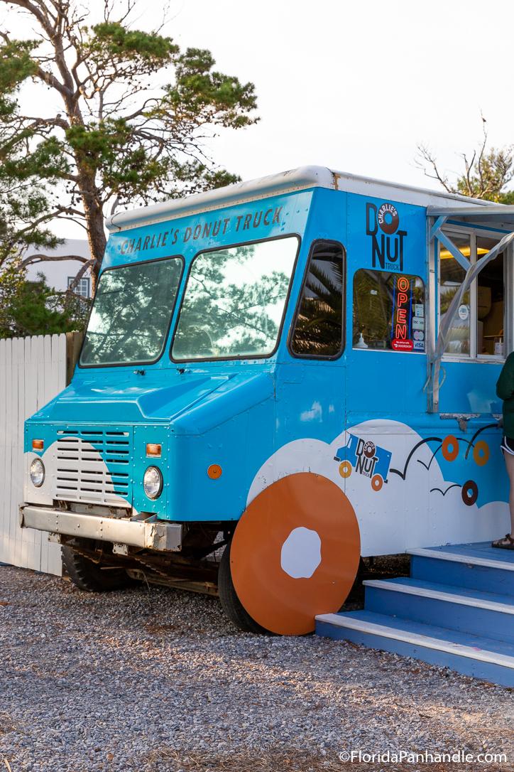 30A Restaurants - Charlie's Donut & Yogurt Truck - Original Photo