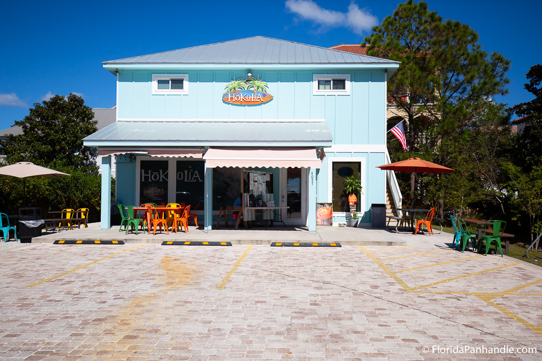 30A Restaurants - Hokulia Shave Ice of 30A - Original Photo