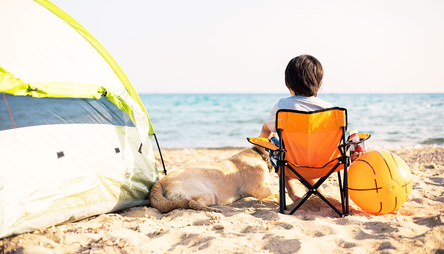 Family Beach Camping Tips + Educational Printables