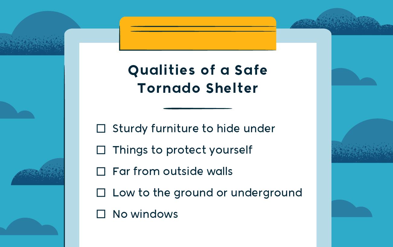 qualities of a safe tornado shelter